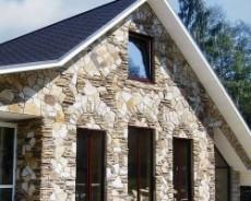 Отделка загородного дома кирпичом или камнем – актуально, эффектно и практично